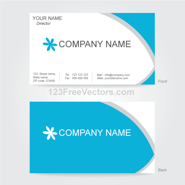visiting card design png file free download