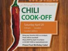 12 Free Chili Cook Off Flyer Template for Chili Cook Off Flyer Template