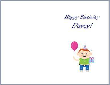 12 Free Word Template Card Birthday Now by Word Template Card Birthday