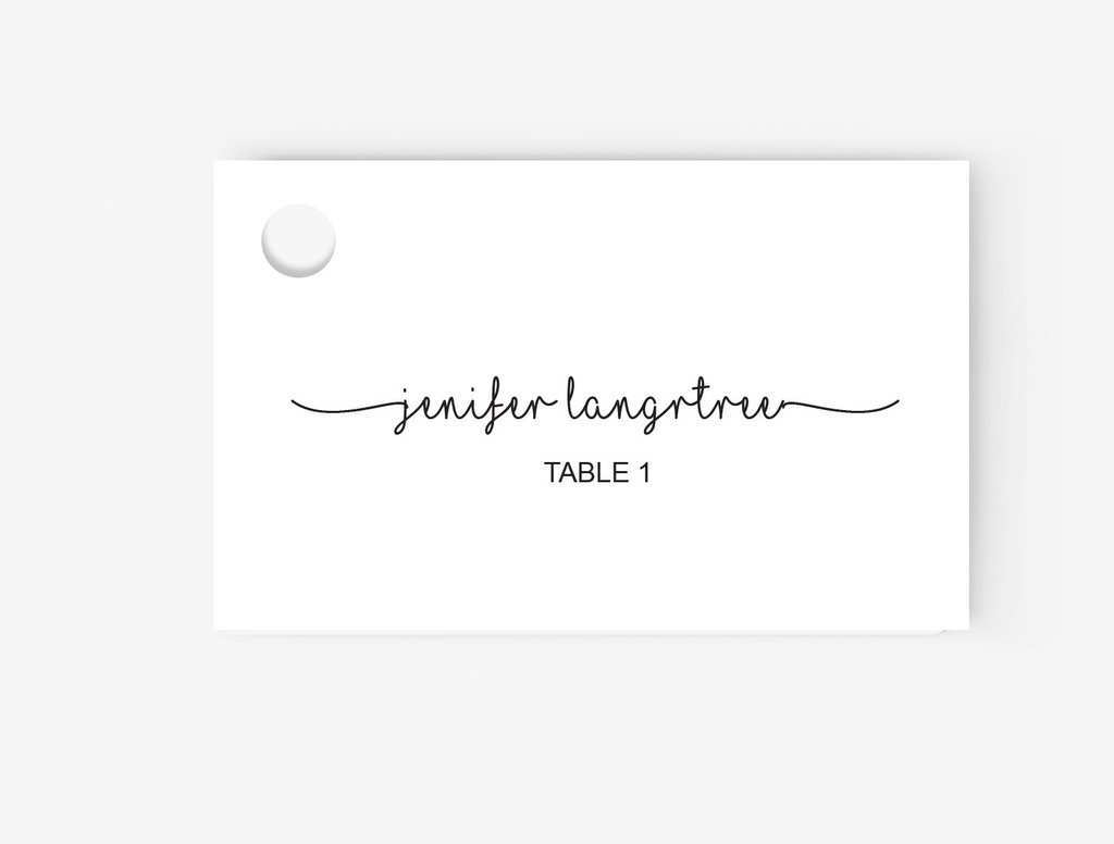 21 How To Create Place Card Template In Microsoft Word Now with With Microsoft Word Place Card Template
