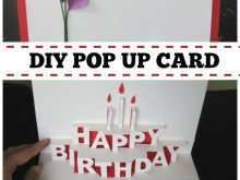 12 Pop Up Card Templates Happy Birthday in Word by Pop Up Card Templates Happy Birthday