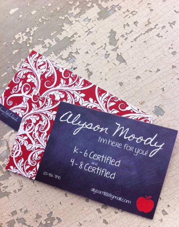 12 Printable Business Card Template English Teacher Now by Business Card Template English Teacher