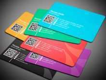 12 Printable Free Qr Code Business Card Templates Formating with Free Qr Code Business Card Templates