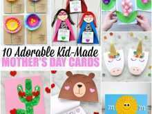 12 Printable Mother S Day Card Templates Kindergarten Maker with Mother S Day Card Templates Kindergarten