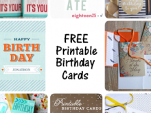 12 Report Birthday Card Templates Pinterest Photo by Birthday Card Templates Pinterest
