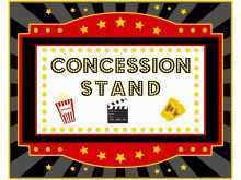 12 Report Concession Stand Flyer Template Layouts with Concession Stand Flyer Template