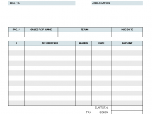12 The Best Blank Billing Invoice Template For Free by Blank Billing Invoice Template