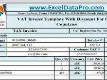 Vat Invoice Format Ksa
