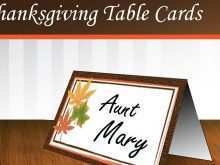 13 Best Free Printable Thanksgiving Place Card Template for Ms Word for Free Printable Thanksgiving Place Card Template
