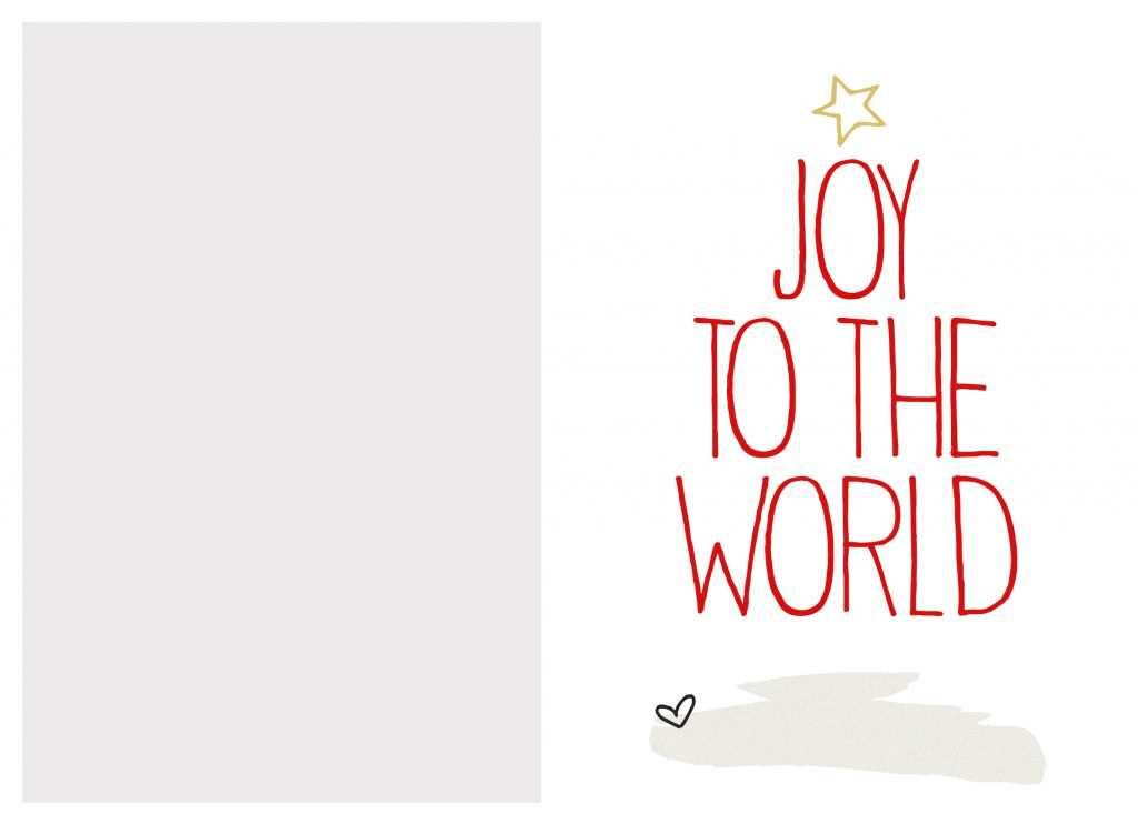 13 Blank Christmas Card Template Print With Stunning Design with Christmas Card Template Print