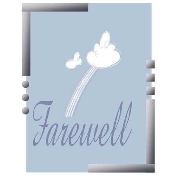 farewell card template for colleague  cards design templates