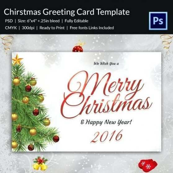 13 Christmas Greeting Card Template Word in Photoshop by Christmas Greeting Card Template Word