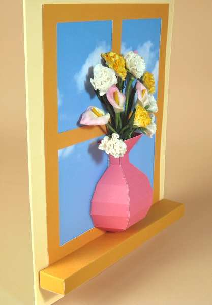 13 Create Card Vase Template in Word by Card Vase Template