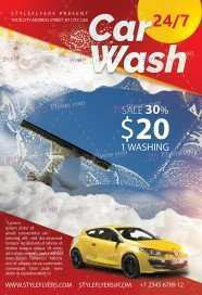 13 Creating Car Wash Flyers Templates for Ms Word with Car Wash Flyers Templates