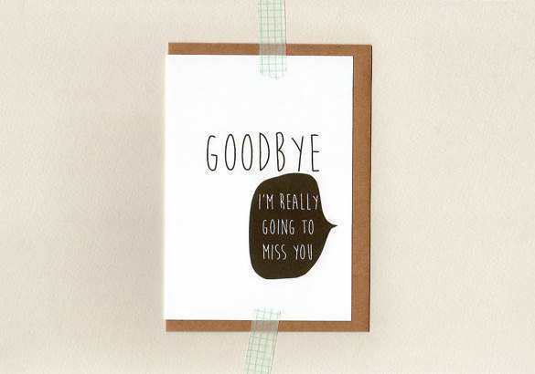 13 Creating Farewell Card Templates Html Layouts for Farewell Card Templates Html