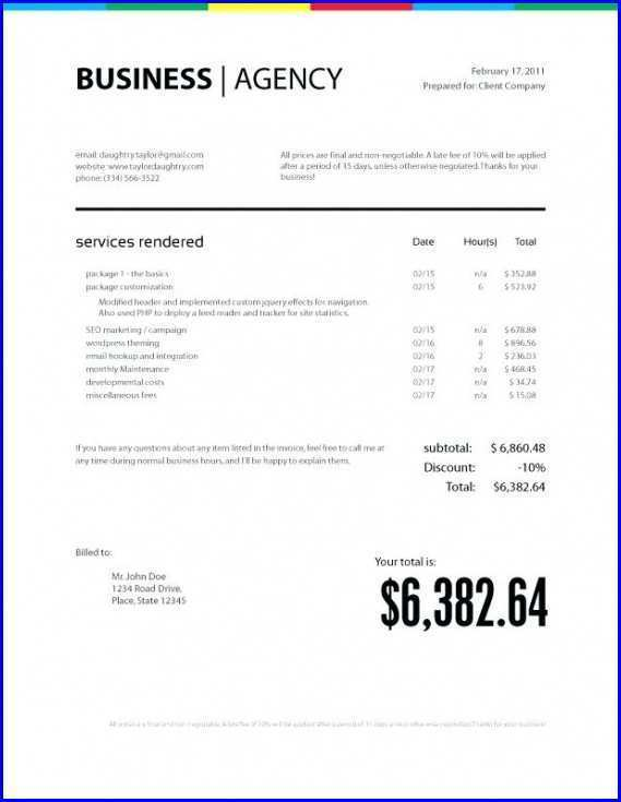 13 Creative Artist Invoice Example Maker for Artist Invoice Example