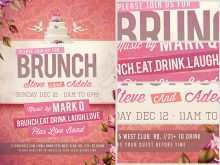 13 Creative Brunch Flyer Template Now with Brunch Flyer Template
