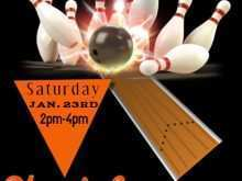 13 Customize Bowling Event Flyer Template With Stunning Design by Bowling Event Flyer Template