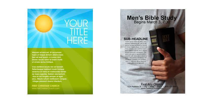 13 Customize Christian Flyer Templates by Christian Flyer Templates