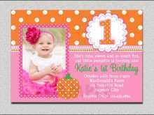 13 Customize Our Free Birthday Card Template For Baby Girl PSD File for Birthday Card Template For Baby Girl