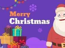 13 Free Printable Christmas Card Video Template PSD File by Christmas Card Video Template