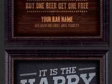 13 How To Create Happy Hour Flyer Template Free Formating for Happy Hour Flyer Template Free