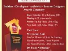 Invitation Cards Templates For Vastu Shanti