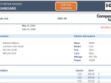 13 Online Car Repair Invoice Template Excel in Word by Car Repair Invoice Template Excel