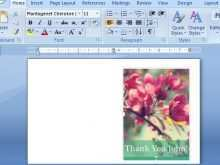 Thank You Card Template Insert Picture