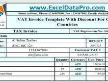 Vat Invoice Template Uk Excel