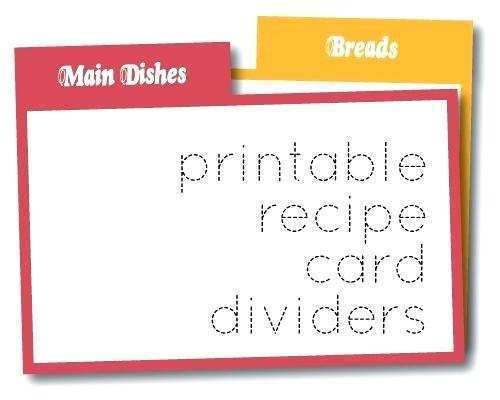 13 Printable 4X6 Index Card Recipe Template Templates with 4X6 Index Card Recipe Template