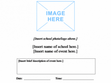 13 Printable School Event Flyer Template Layouts with School Event Flyer Template