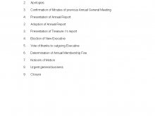 13 Standard Agm Meeting Agenda Template Now by Agm Meeting Agenda Template