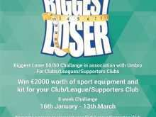 13 Standard Biggest Loser Flyer Template Now for Biggest Loser Flyer Template