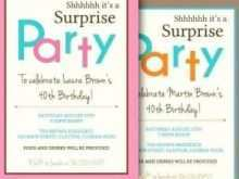 14 Best 40Th Birthday Card Template Word Layouts by 40Th Birthday Card Template Word