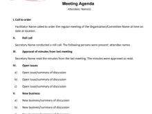 14 Best Agenda Conference Call Template Maker by Agenda Conference Call Template