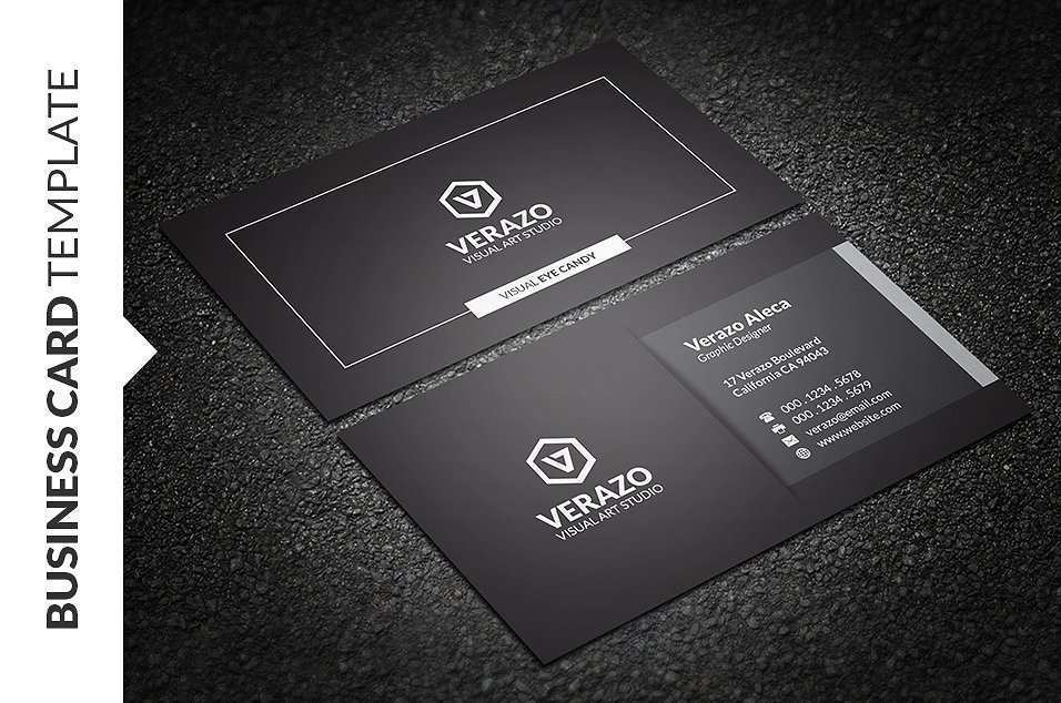 14 Best Business Card Template Black And White Photo with Business Card Template Black And White