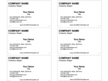 14 Blank Avery Business Card Template Libreoffice Formating for Avery Business Card Template Libreoffice