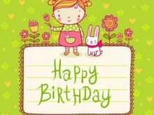 14 Blank Birthday Card Template Child Layouts by Birthday Card Template Child