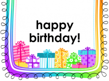 14 Blank Birthday Card Templates Png in Word with Birthday Card Templates Png