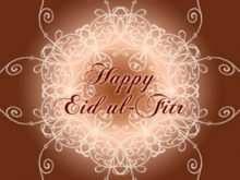 14 Blank Free Eid Mubarak Card Templates with Free Eid Mubarak Card Templates
