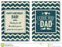 14 Blank Happy Birthday Card Template For Dad Formating with Happy Birthday Card Template For Dad
