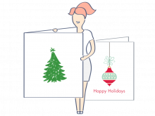 14 Create Christmas Card Template To Print With Stunning Design with Christmas Card Template To Print