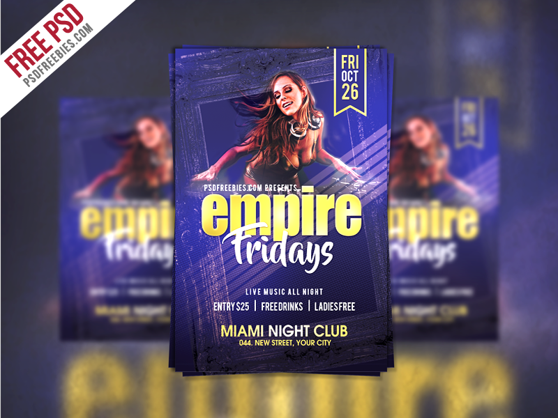 14 Creating Club Flyer Template Free Maker for Club Flyer Template Free
