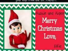 14 Creative Christmas Card Template Elf with Christmas Card Template Elf