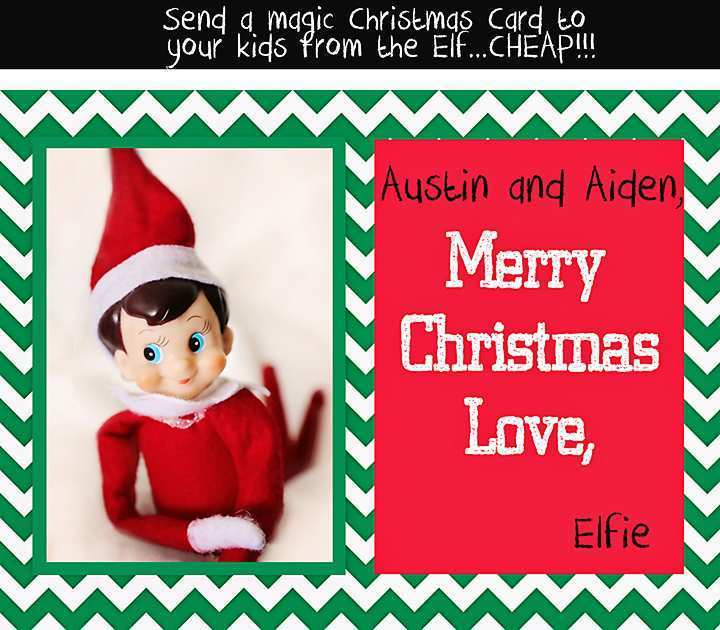 14 Creative Christmas Card Template Elf with Christmas Card Template Elf