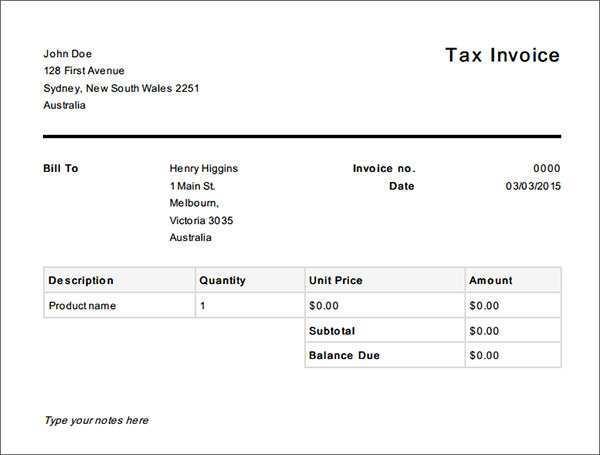 14 Customize Australian Tax Invoice Template No Gst PSD File with Australian Tax Invoice Template No Gst