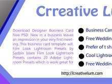 14 Customize Business Card Template Lightroom Now by Business Card Template Lightroom