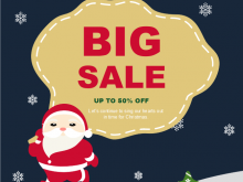 14 Customize Christmas Sale Flyer Template in Photoshop by Christmas Sale Flyer Template