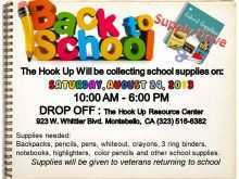 14 Customize Our Free Back To School Supply Drive Flyer Template With Stunning Design for Back To School Supply Drive Flyer Template